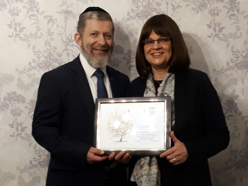 Rabbi Baruch And Rebbetzen Nechama Davis Celebrate 20 Years At
